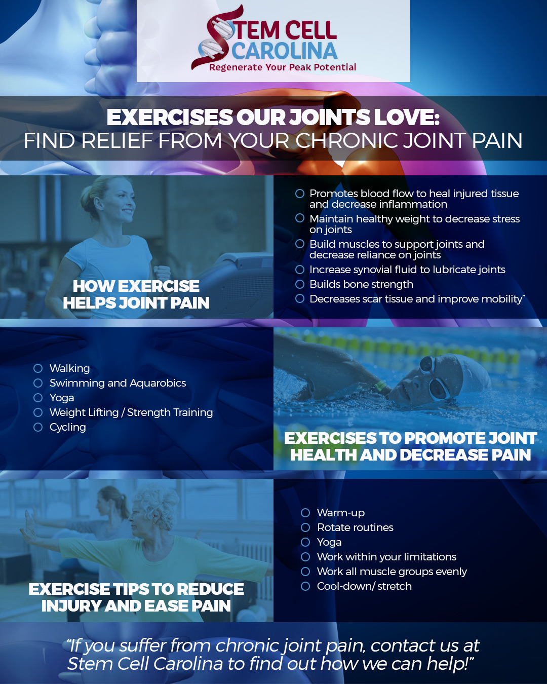 exercises to improve joint pain
