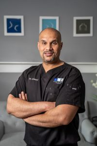 Dr. Usman Ahmad of Stem Cell Carolina, the regenerative division of Advanced Sports and Spine in Charlotte, NC