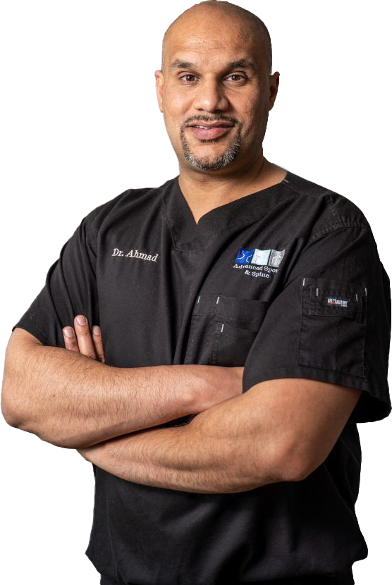 Dr. Ahmad provides stem cell therapy in Charlotte NC and the surrounding areas